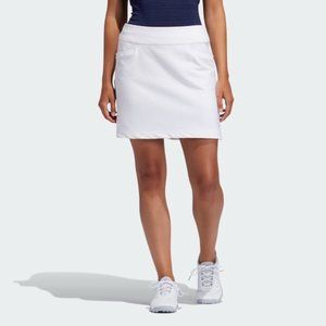 Adidas BNWT women white skort sz XS Long golf tenn